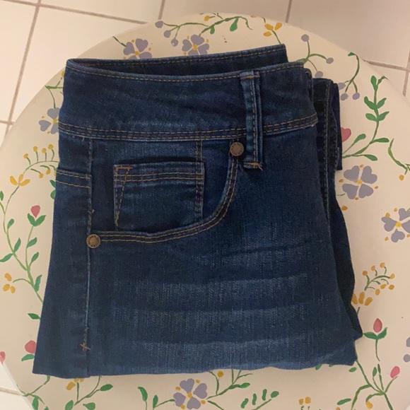 1822 Denim crop jeans